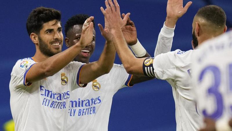 Asensio traf gleich drei Mal für Real Madrid