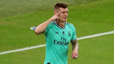 Toni Kroos schoss im Supercup gegen Valencia ein direktes Eckball-Tor