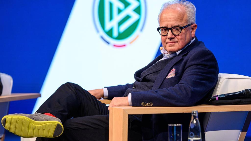 DFB-Präsident Fritz Keller kämpft gegen Rassismus