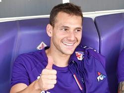 Cristóforo en el banquillo de la Fiorentina.