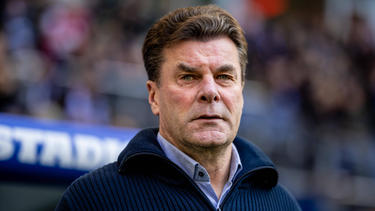 Dieter Hecking bereitet sich auf das nächste Spiel mit dem HSV vor