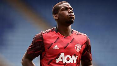 Paul Pogba spielt in der Premier League für Manchester United