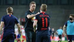 Timo Werner verteilte bei RB Leipzig Abschiedsgeschenke