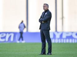 Dominik Thalhammer trifft mit dem LASK auf Sporting im EL-Playoff