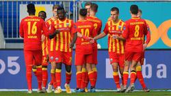 Paderborn setzte sich souverän gegen Darmstadt durch