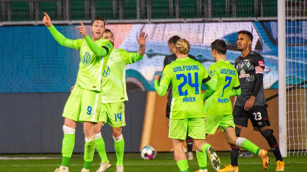 Der VfL Wolfsburg feierte einen hart erkämpften Heimsieg gegen Werder Bremen