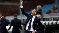 Massimiliano Allegri holte mit Juventus drei Punkte