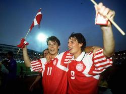 EM 1992: Dänischer Nationalfeiertag