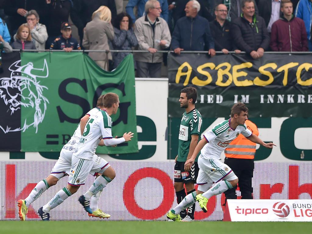 Neuzugang Matej Jelić erlöste Rapid in Ried in der Nachspielzeit