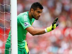 Sergio Romero hütet seit Beginn der Saison das Tor von Manchester United