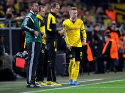 Marco Reus (r.) steht wieder im Kader des BVB