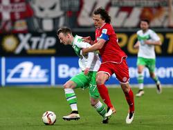 Baumgartlinger en un partido de la Bundesliga con el Mainz. (Foto: Getty)
