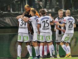 Sturm Graz jubelt über den Einzug ins Cupfinale