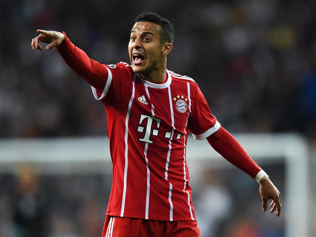 Thiago könnte dem FC Bayern schon in diesem Sommer verlassen