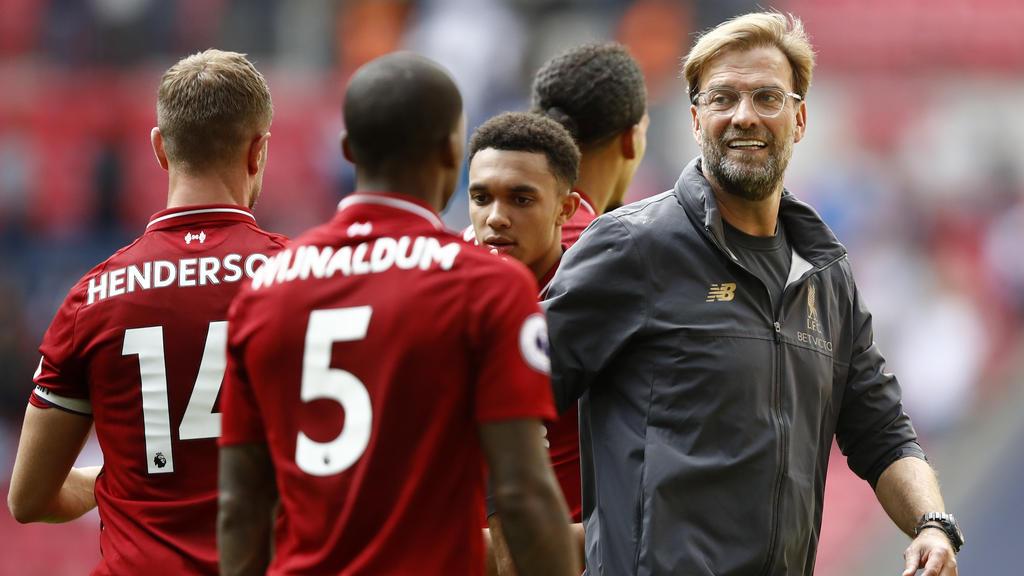 Jürgen Klopp feierte mit Liverpool einen historischen Sieg