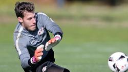 Bleibt bei RB Leipzig:Ersatztorwart Marius Müller