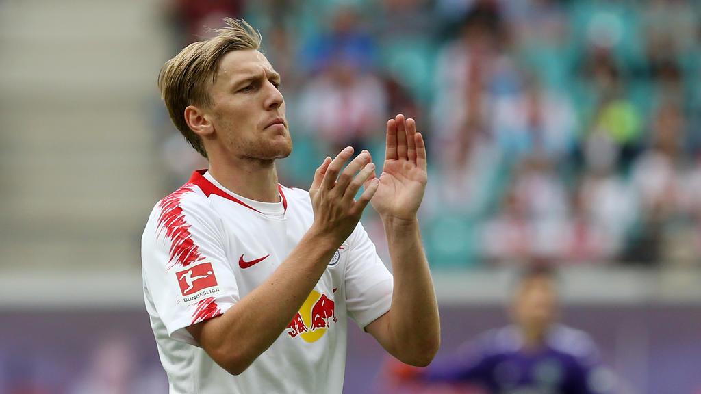 Emil Forsberg muss für den Pokal passen