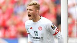 Steht in Gladbach wieder im Mainzer Tor: 05-Keeper Florian Müller