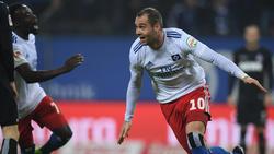 Pierre-Michel Lasogga war gegen Köln der Matchwinner