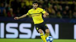 Mahmoud Dahoud vom BVB geht gelassen ins Spiel beim FC Bayern