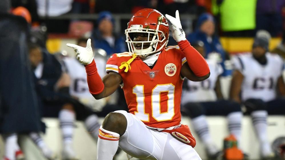 NFL-Star Tyreek Hill wird nicht angeklagt