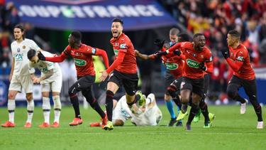 El Rennes ganó su tercera copa de la historia. (Foto: Getty)