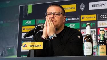 Gladbach-Manager Max Eberl ist von der PSG-Expansion nicht begeistert