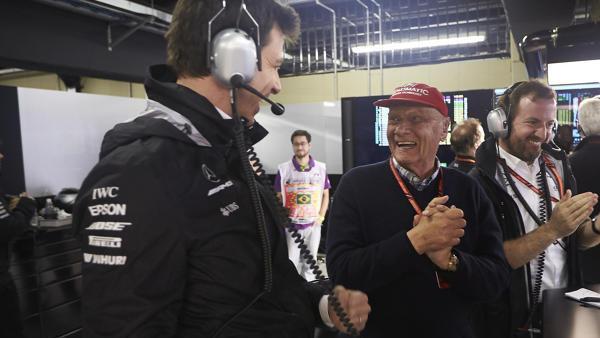 Toto Wolff und Niki Lauda feierten gemeinsam fünf WM-Titel mit Mercedes