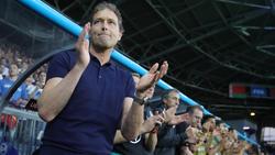 Die DFB-Elf gewann unter den Augen von Marcus Sorg