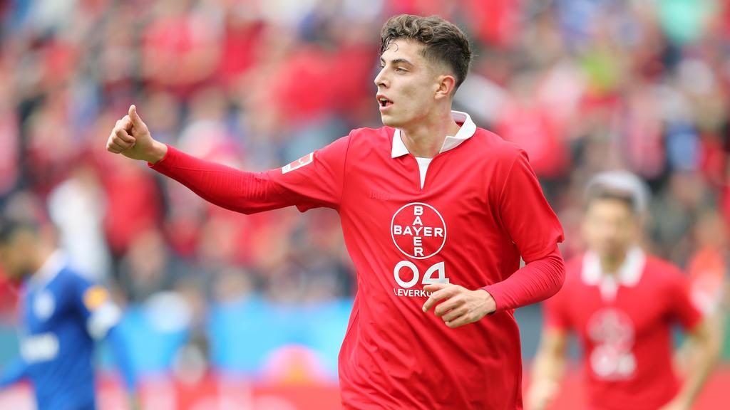 Kai Havertz wird wohl nicht mehr lange bei Bayer Leverkusen spielen