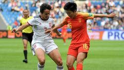 Spaniens und Chinas Fußballerinnen trennten sich 0:0