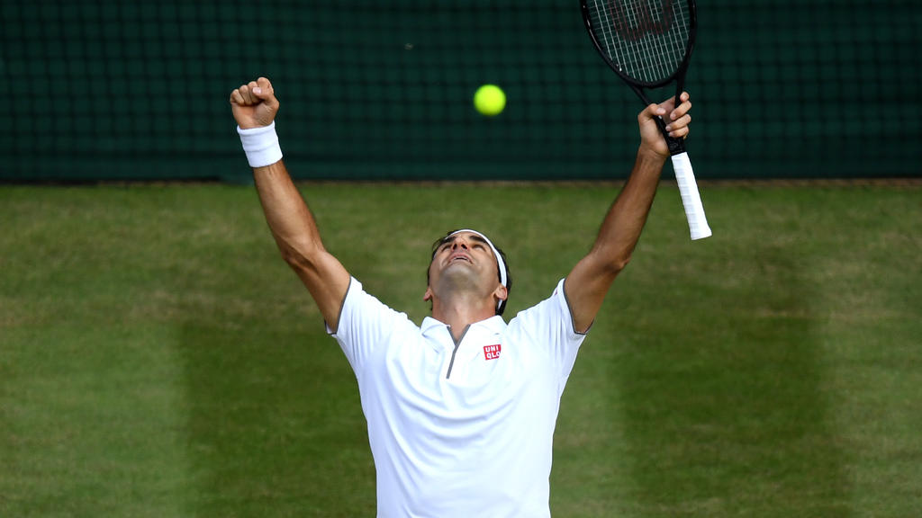 Roger Federer steht im zwölften Wimbledon-Finale seiner außergewöhnlichen Karriere