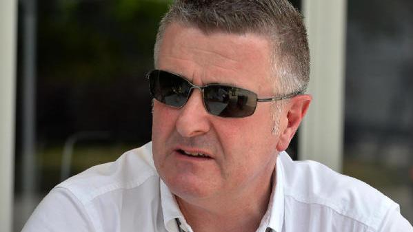 Martin Donnelly wurde bei einem Mopedrennen schwer verletzt