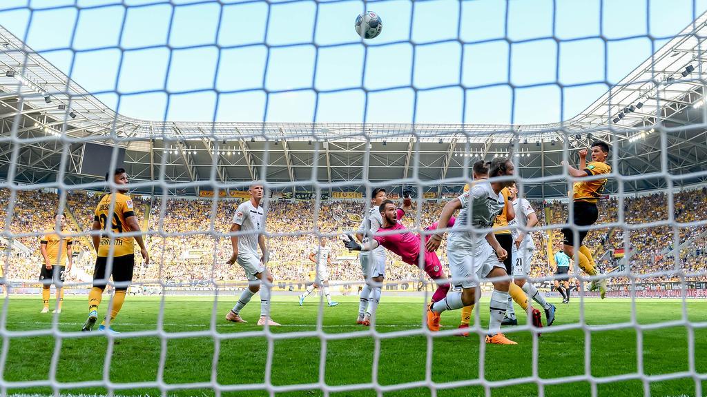 Dynamo Dresden holte gegen St. Pauli drei Tore Rückstand auf