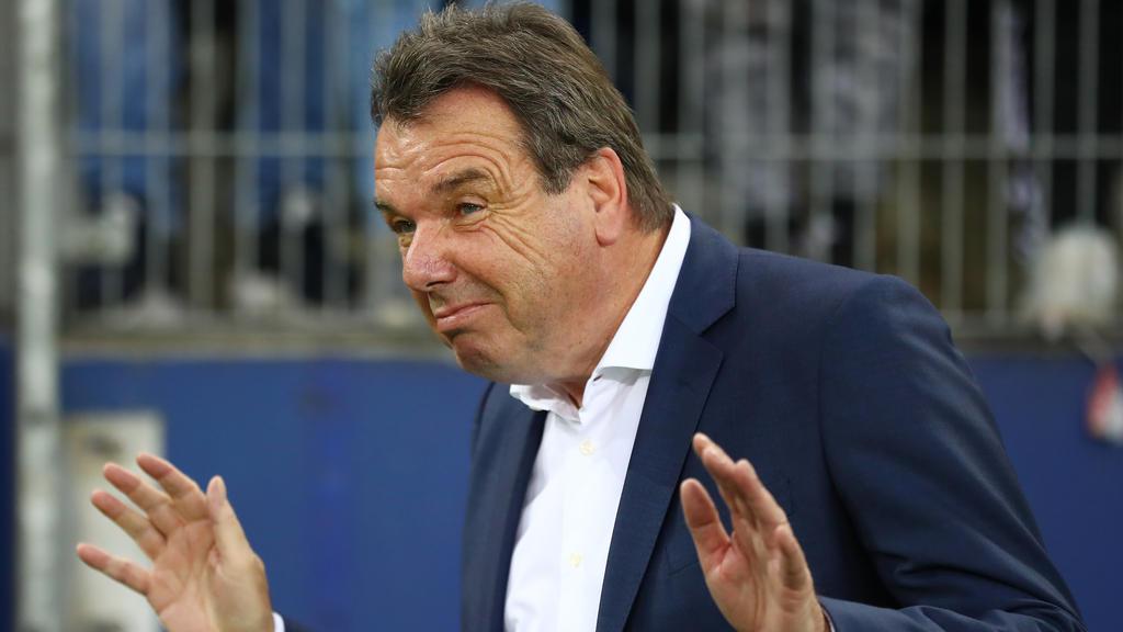 Heribert Bruchhagen glaubt, Dass Timo Werner dem FC Bayern derzeit nicht helfen würde