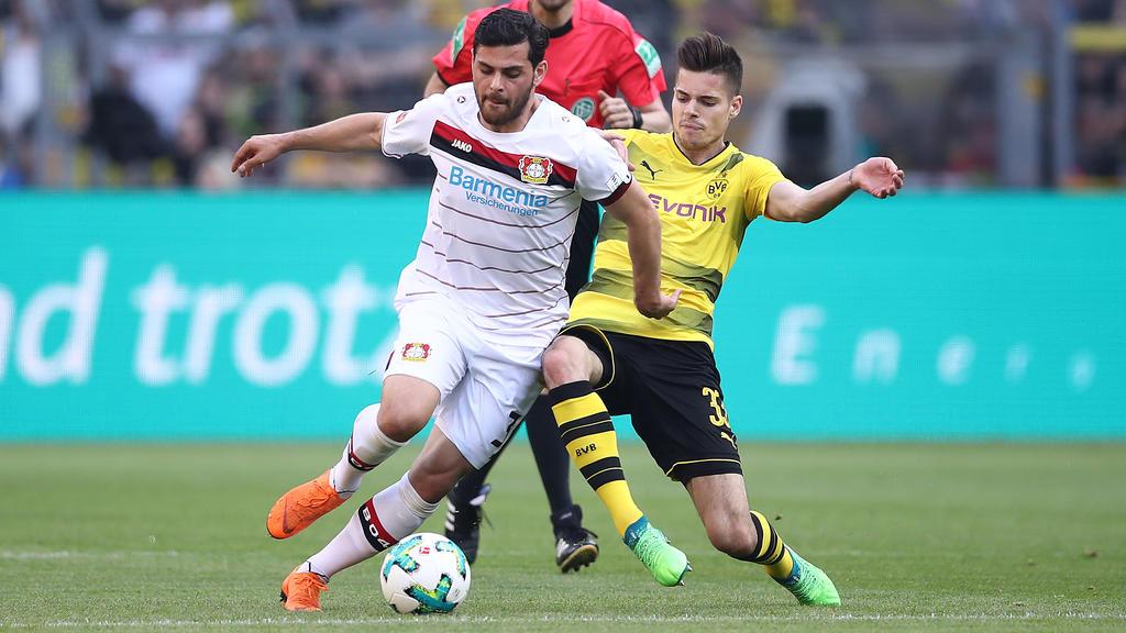 Kevin Volland will mit seinen Leverkusenern den BVB ärgern