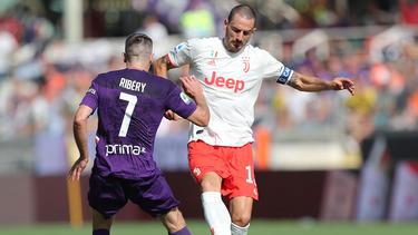 Franck Ribéry spielte gegen Juventus von Beginn an