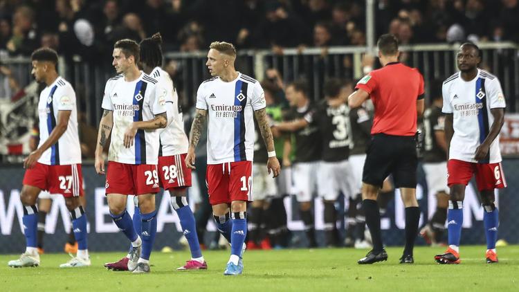 Dämpfer im Aufstiegsrennen für den Hamburger SV