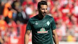 Hat Nachholbedarf: Werder-Routinier Claudio Pizarro