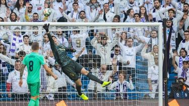 Thibaut Courtois hielt seinen Kasten gegen Espanyol sauber