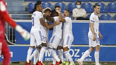 Real Madrid startete mit einem Sieg in die Saison