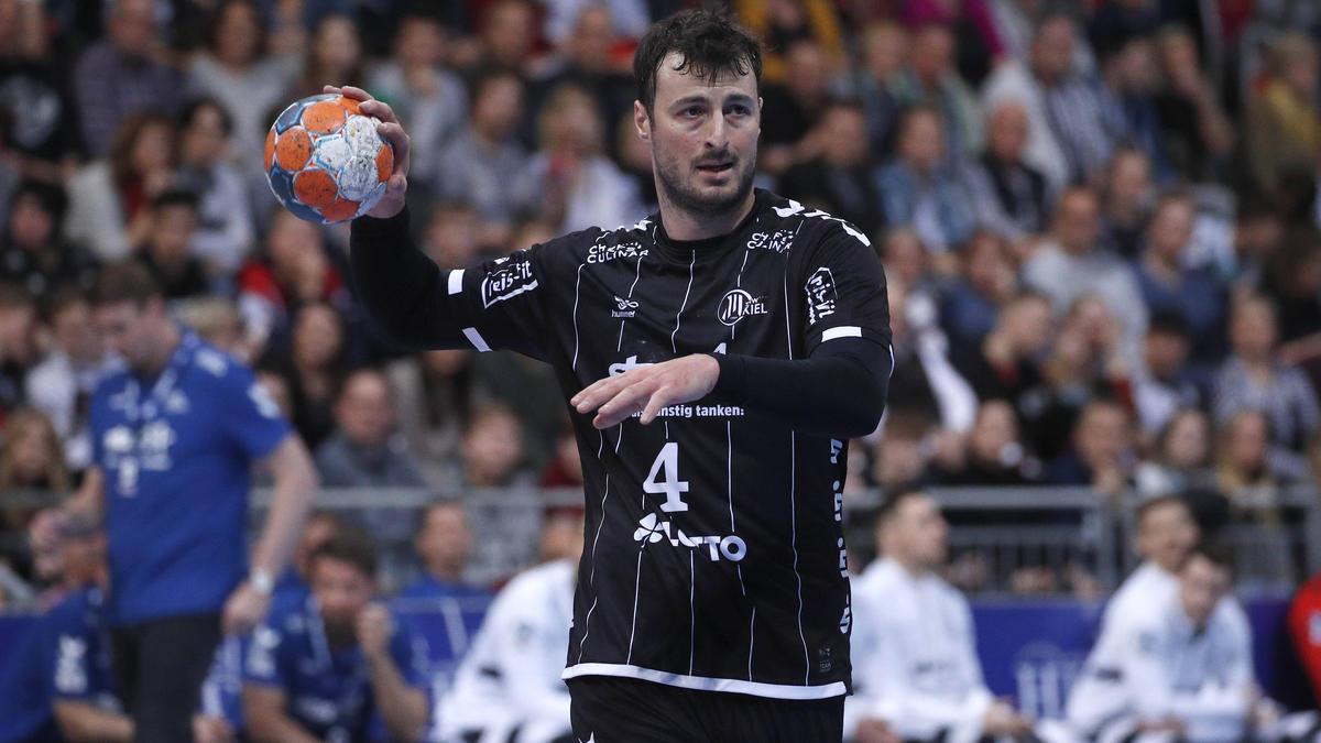 Domagoj Duvnjak und der THW Kiel arbeiten am Weiterkommen in der Champions League