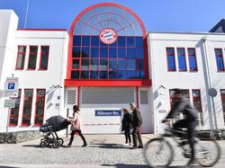 Imágenes del centro de entrenamiento del Bayern.