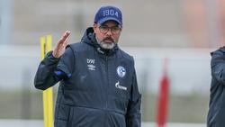 David Wagner fordert eine Reaktion von den Spielern des FC Schalke 04