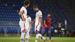 Eintracht Frankfurt schied gegen den FC Basel aus