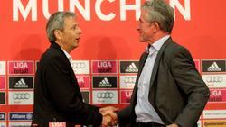 BVB-Coach Lucien Favre (l.) ein Trainer wie Jupp Heynckes?
