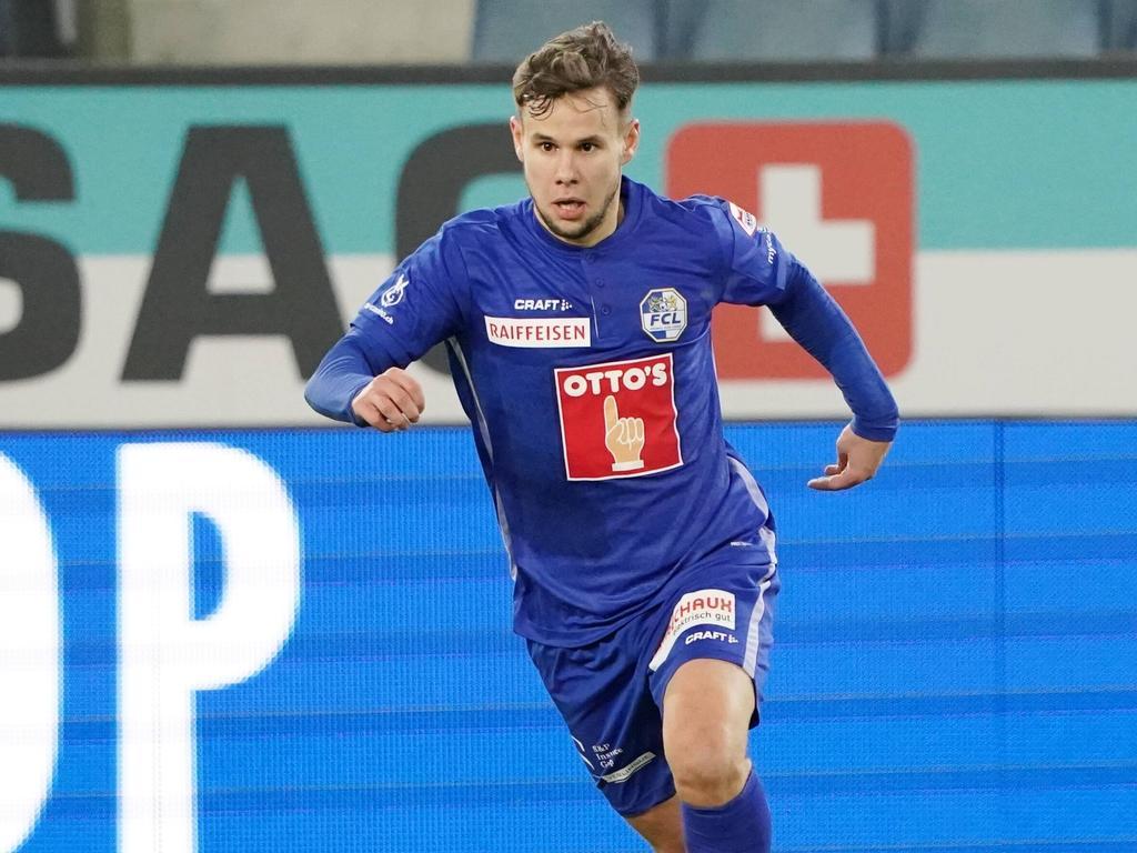 Louis Schaub geigt diese Saison beim FC Luzern in der Schweizer Super League auf