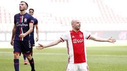 Der ehemalige Werder-Profi Klaassen (r.) erzielte den Siegtreffer für Meister Ajax