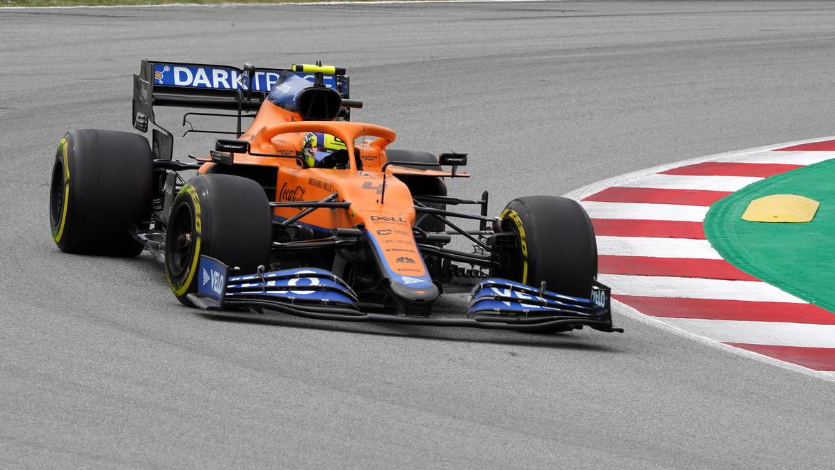 Lando Norris sieht nach dem Rennen in Barcelona keinen Grund zur Panik