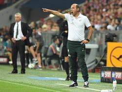 Trainer Viktor Skripnik steht bei Werder Bremen nicht zur Diskussion